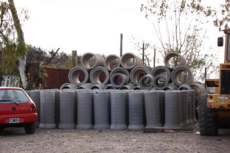 materiales necesarios para eliminar desagües a cielo abierto