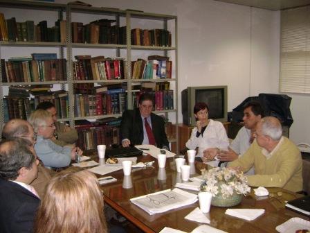 Directores de hospitales de la región V se reunieron con el viceministro en el hospital de Pacheco