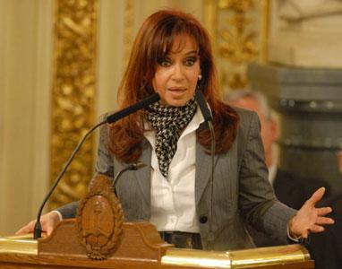 Cristina anunció un  programa social de predistribución del ingreso