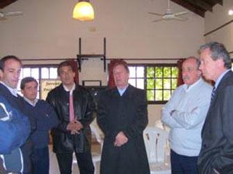 Carlos Salvador Bilardo se reunió con los responsables de Deportes de los municipios de la Región Metropolitana Norte en Puerto Libre