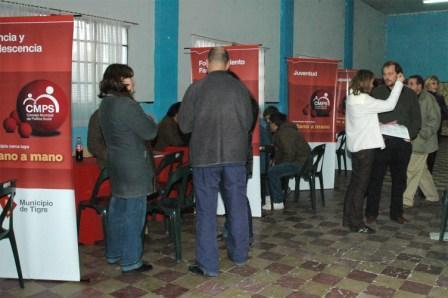 Primer Megaoperativo del Consejo Municipal de Política Social en Tigre