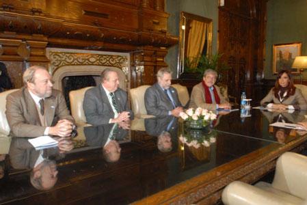 Dirigentes rurales valoran la reunión con la Presidenta