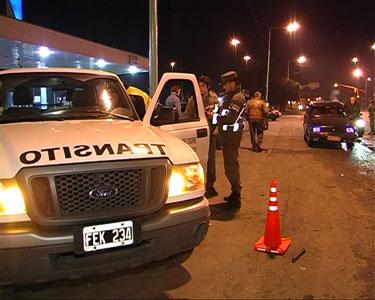 Operativo de tránsito durante el fin de semana en Tigre