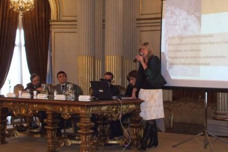 La Directora General de Gestión Ambiental de Tigre, Lic. Leticia Villalba