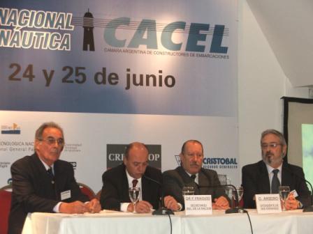 Se realizó el Primer Foro Nacional de la Náutica, en las instalaciones de la sede Punta Chica del Parque Náutico San Fernando SA