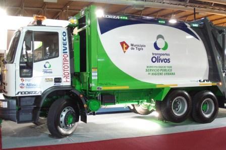 Se incorporó el Camión Verde con tecnología y equipamientos para reducir costos y mejorar prestaciones