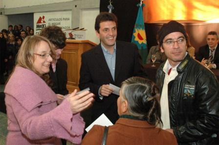 Sergio Massa y Alicia Kirchner lanzaron el Centro de Atención y Prevención de Adicciones