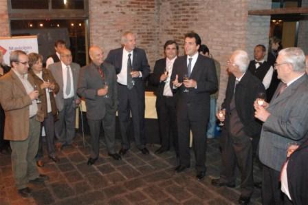 Massa agasajó a las nuevas autoridades de rotarios y leones de Tigre