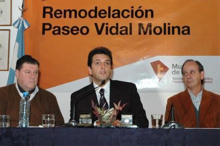 Remodelación y puesta en valor del Paseo Vidal Molina