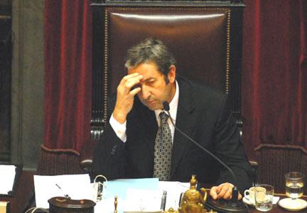 Con voto de Cobos el Senado rechaza el proyecto de retenciones
