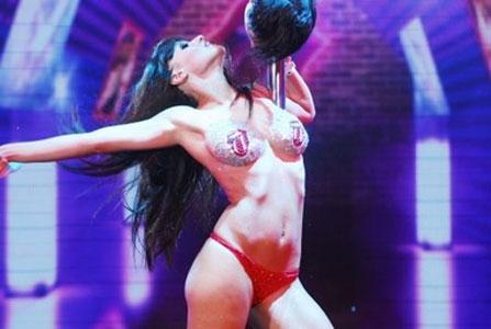 A pura sensualidad regresó el baile del caño a ShowMatch