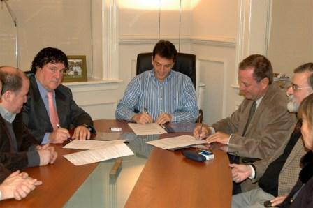 Convenio para revitalizar el área de la Pista Nacional de Remo