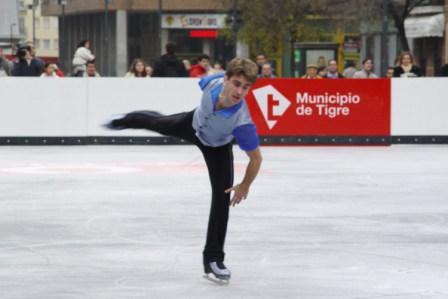 Tigre inaugura la primera pista de hielo al aire libre