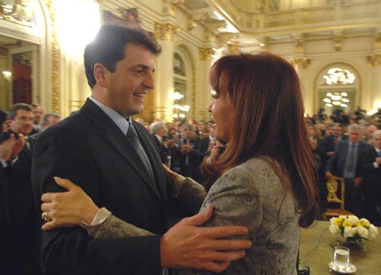 Sergio Massa asumió la Jefatura de Gabinete del Gobierno