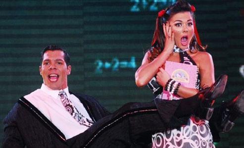 Jelinek y Guerrero brillaron en la noche de Bailando por un sueño