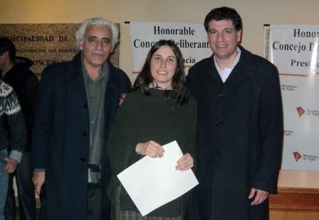 Inauguración de la muestra Artistas Unidos por el Arte  en el HCD de Tigre