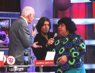 Gerardo Sofovich y La Tota Santillán se enfrentaron en ShowMatch