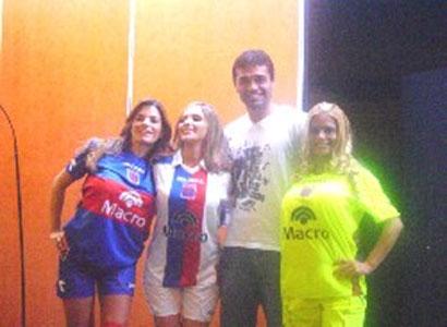 Diadora presentó la Indumentaria Oficial del club Tigre (Foto Gentileza Club Tigre)