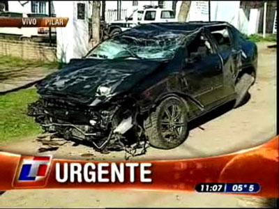 Cuatro chicos mueren atropellados por un automóvil en Pilar
