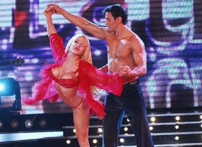 Pampita, Adabel y Cirio, sedujeron con su adagio latino en Bailando por un sueño