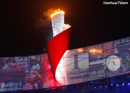 Un mundo, un sueño y una impactante ceremonia inaugural de los juegos olímpicos