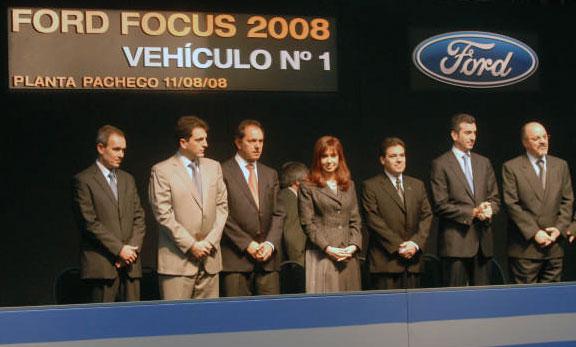 Con la presencia de Cristina Fernández de Kirchner, Ford presentó su nuevo modelo