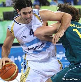 Basquetbol: Argentina se recupera con un triunfo ante Australia