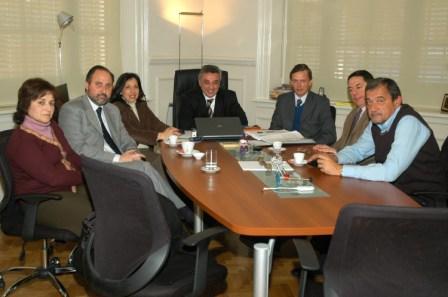 El Intendente Zamora recibió en su despacho al Bloque del partido Acción Comunal