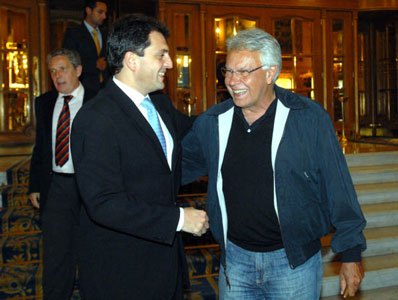 Massa y Felipe González