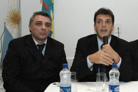 Zamora se reunió con Massa e intendentes de la Provincia