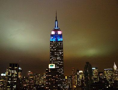 El Empire State vuelve a brillar con los colores Argentinos
