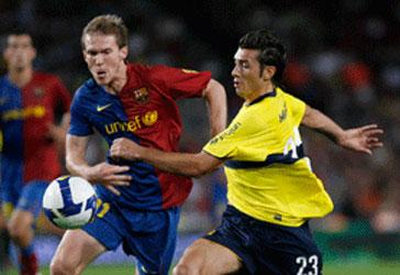 Sobre la hora Barcelona se quedo con la copa que era de Boca