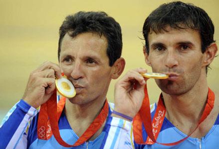 Curuchet y Perez ganan la primera medalla de oro en Beijing