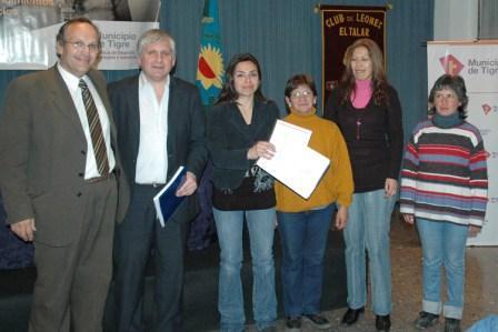 Emprendedores de Tigre recibieron más herramientas para el trabajo