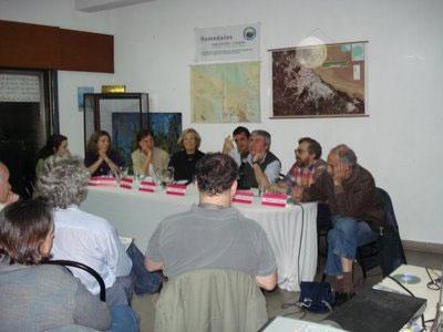 Se realizó en la sede de la Biblioteca Popular Sarmiento de Tigre la charla exposición