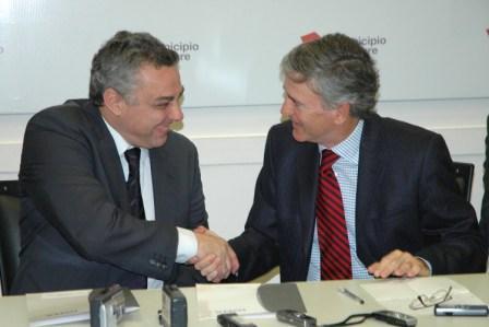 Se firmó un acta acuerdo entre el municipio de Tigre y el  IOMA