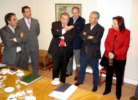 Participaron los intendentes de Pilar y Escobar Dr. Humberto Zúccaro y Sandro Guzmán