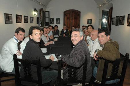 Sergio Massa volvió a Tigre y recorrió obras junto al intendente