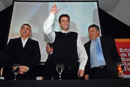 Massa junto a Zamora Y Stornelli
