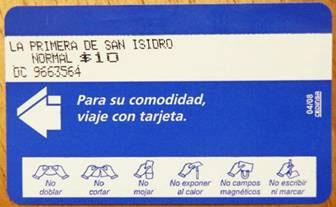 La línea de colectivos 333 de San Isidro comienza a cobrar el boleto con tarjeta