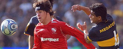 Boca e Independiente empataron un clasico jugado con más impetu que ideas