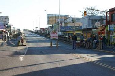 Cerraron el puente de Boulogne para  desarmarlo y continuar las obras del túnel que lo reemplazará