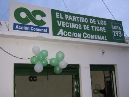 Acción Comunal inauguró su local de Benavidez