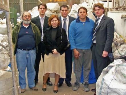 Nicolás Scioli y Daniel Gambino se reunieron con las Cooperativas Benavidenses Etilplast y Creando Conciencia