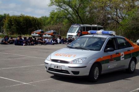 La Policía Buenos Aires 2 realizó un entrenamiento en Tigre