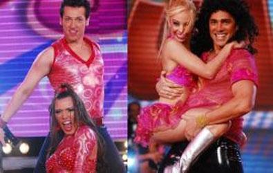 Matías Alé, Adabel Guerrero y Pablo Ruiz volvieron anoche a ser participantes de Bailando por un Sueño