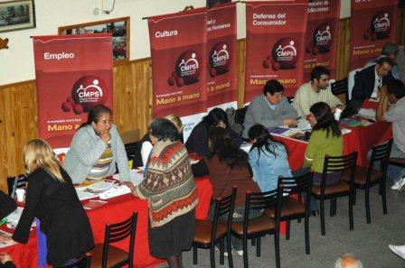 El megaoperativo del Consejo Municipal de Política Social se realizó en el Centro de Jubilados Nuestra Señora de Luján de Torcuato