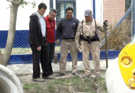 El Jefe de Gabinete de la Nación, Sergio Massa recorrió obras en Tigre Acompañado por el Intendente de Tigre, Julio Zamora