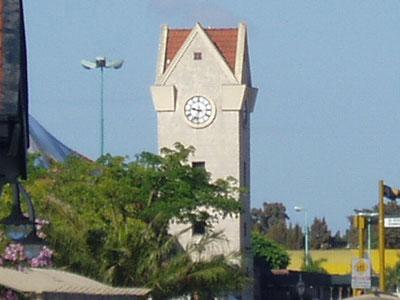 Reloj de la estación de Trenes de Tigre
