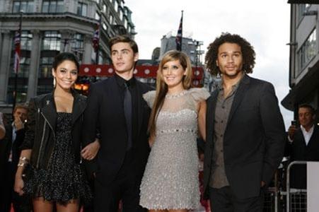 High School Musical 3 llegó con éxito a los cines de Europa